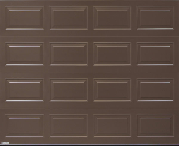 Vandyke brown Oxford design sectional door from Gliderol\\n\\n12/11/2010 09:35